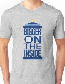 It's Bigger on the Inside - Tardis Unisex T-Shirt