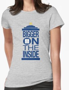It's Bigger on the Inside - Tardis Womens Fitted T-Shirt
