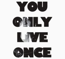 Julian Casablancas - You Only Live Once Tee by suckitandsee