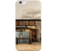 Joshua tree Saloon in California iPhone Case/Skin