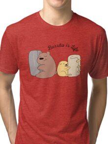 Burrito is Life Tri-blend T-Shirt