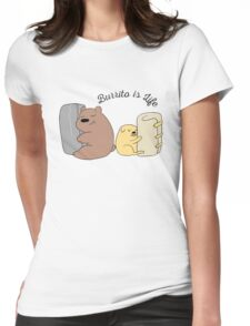 Burrito is Life Womens Fitted T-Shirt