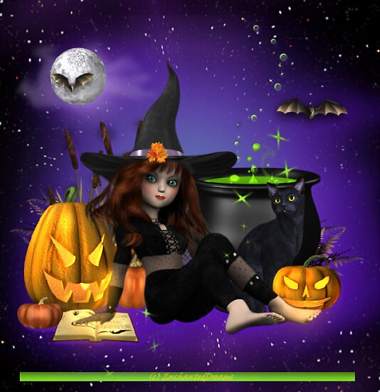 Bubble Bubble Toil and Trouble Happy Halloween by EnchantedDreams