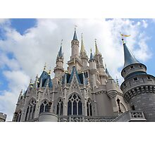 Magic Kingdom Castle Photographic Print