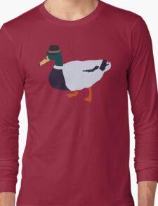 Fedora Duck Long Sleeve T-Shirt