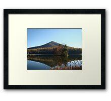 Peaks of Otter (Fall)~ Framed Print