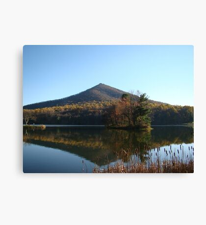 Peaks of Otter (Fall)~ Canvas Print