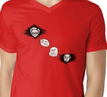 Grumpy Grandparents Mens V-Neck T-Shirt