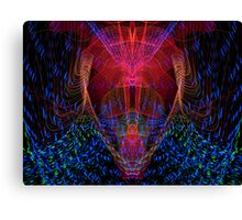 The Light Warrior Canvas Print