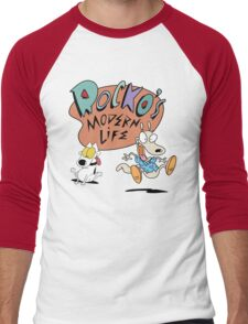 Rocko's Modern Life Men's Baseball ¾ T-Shirt