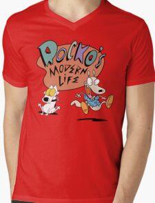 Rocko's Modern Life Mens V-Neck T-Shirt