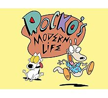 Rocko's Modern Life Photographic Print