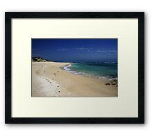 Little Dip Beach, SA Framed Print
