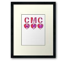 CMC Cutie marks Framed Print