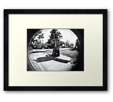 Toy Camera and Art Framed Print