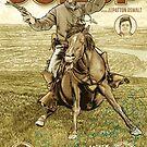 The Dollop - 2015 LA Podfest Poster: Boston Corbett by James Fosdike