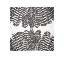 Tribal Feathers  Black Scarf