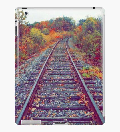 Autumn Railroad iPad Case/Skin