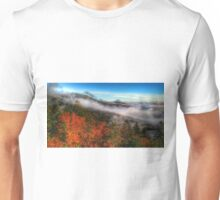 autumn morning on blue ridge parkway Unisex T-Shirt