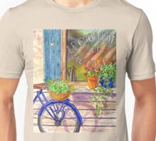 Vintage Window Le Cafe Unisex T-Shirt
