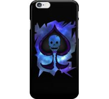 Lost In Galaxy; Spade Skull iPhone Case/Skin