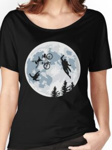 The Extraterrestrial vs Extraordinaryterrestrial Women's Relaxed Fit T-Shirt