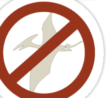 Pterodactyls are Vermin Sticker