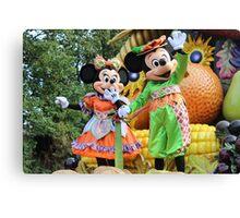 Harvest Parade Canvas Print