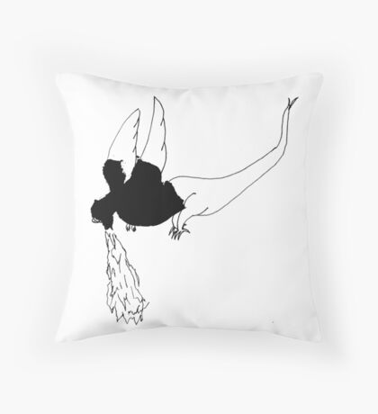 Hiccup the Dragon Throw Pillow