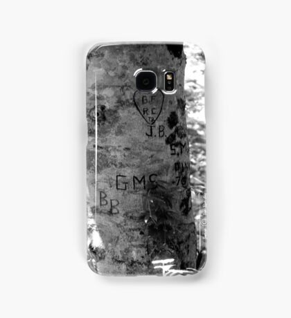 Leave your Mark Samsung Galaxy Case/Skin