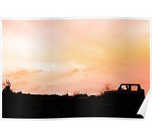 Sunset Wrangler Poster