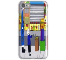 Shopping bag lady iPhone Case/Skin