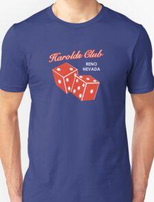 Harolds Club Reno Unisex T-Shirt