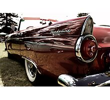 Red Thunderbird Photographic Print