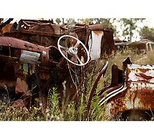 Rusty 1 Photographic Print