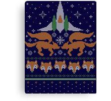 Foxy Threads Canvas Print