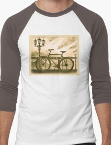 Retro Bicycle Men's Baseball ¾ T-Shirt