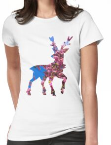 Sawsbuck (spring) used aromatherapy Womens Fitted T-Shirt