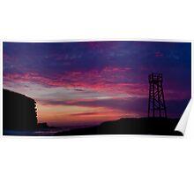 Redhead Beach Newcastle Sunrise Poster