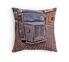 1951 Citroen H Van Throw Pillow