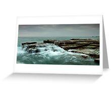 Ocean Tiers Greeting Card