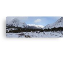 Elbow Pass valley Canvas Print