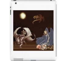 The Lady and the Dragon Slayer iPad Case/Skin