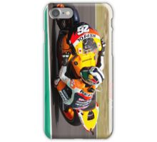 Dani Pedrosa in Mugello iPhone case iPhone Case/Skin