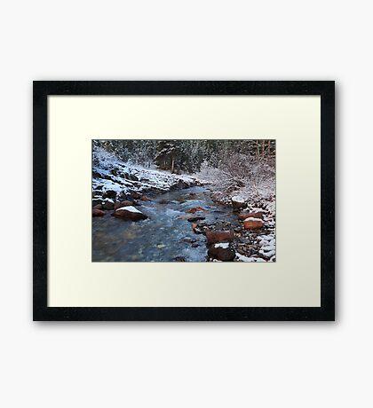 Ribbon Creek Framed Print