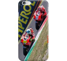 Rossi and Hayden in Mugello iPhone case iPhone Case/Skin