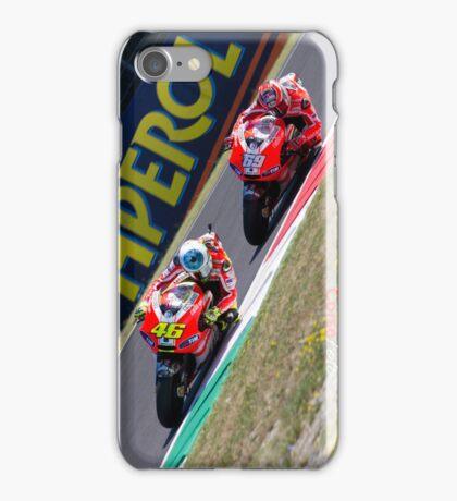 Rossi and Hayden in Mugello iPhone case iPhone Case/Skin