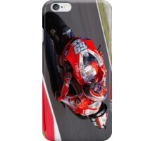 Nicky Hayden in Mugello iPhone case iPhone Case/Skin