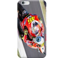 Rossi on his Ducati at Mugello iPhone Case/Skin