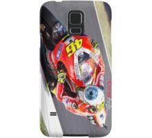 Rossi on his Ducati at Mugello Samsung Galaxy Case/Skin